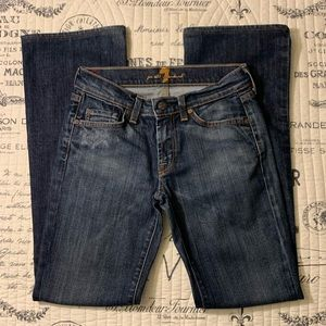 7forallmankind straight cut jeans Size 27